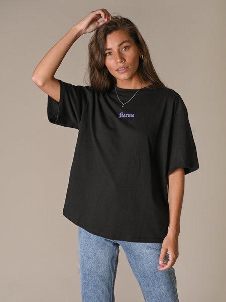 NAKD Karma Printed T-Shirt Black