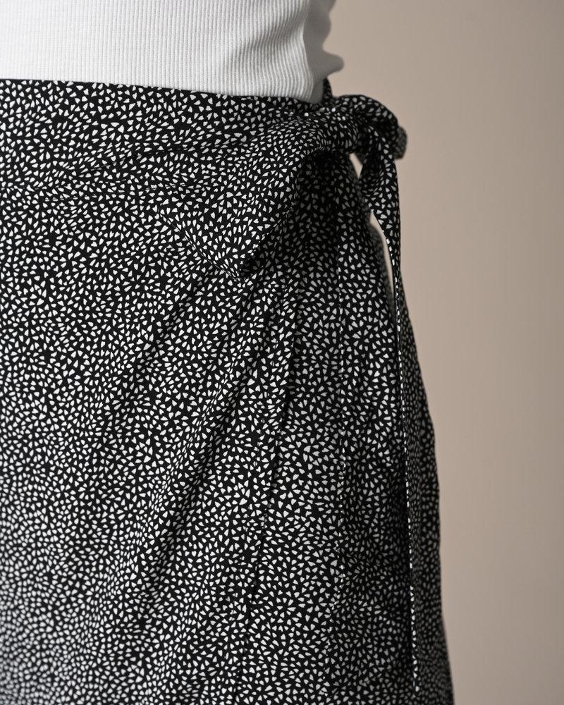 TILTIL Nene Skirt Black White Print