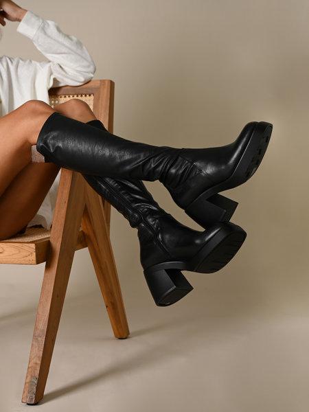 Vagabond Brooke High Boots Black