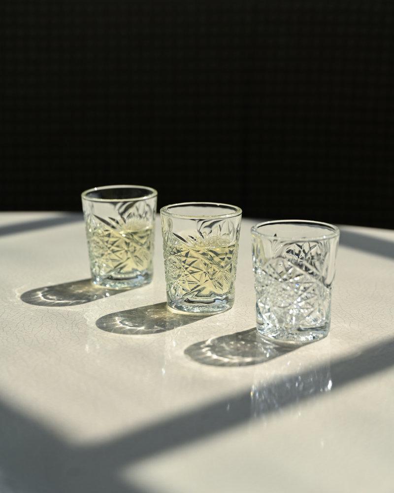 Hobstar Shot Glass