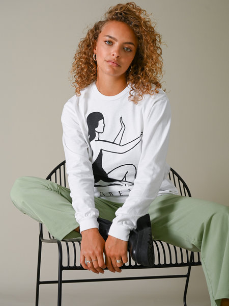 OBEY Radiant energy LS shirt white