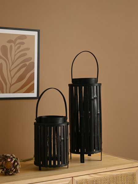Lantern Bamboo Black