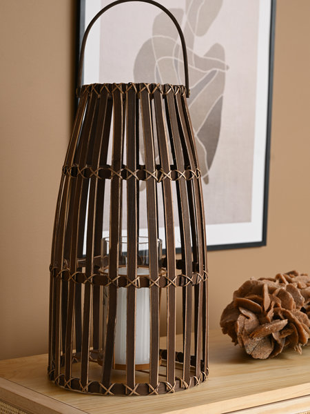 Lantern Cane Brown