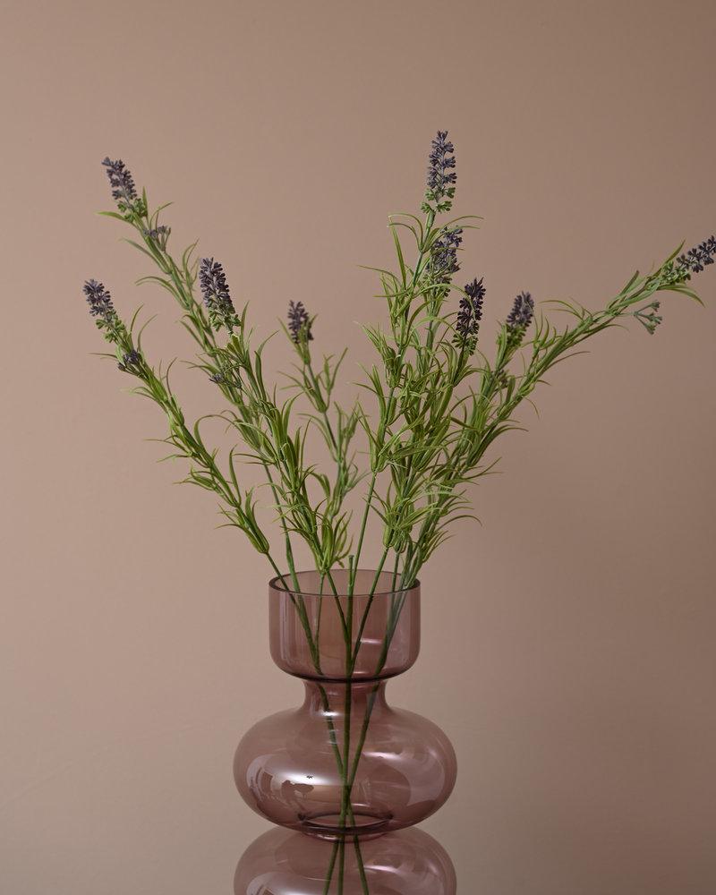 Faux Flowers Purple