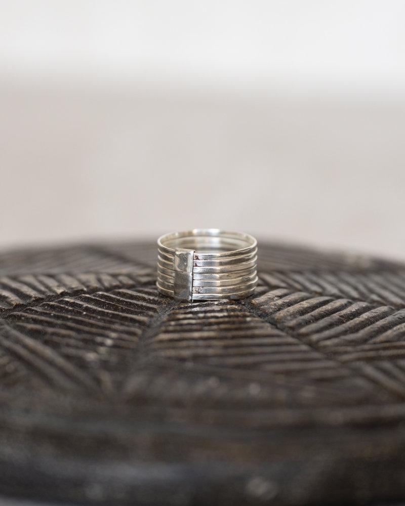TTS Tube Silver Ring