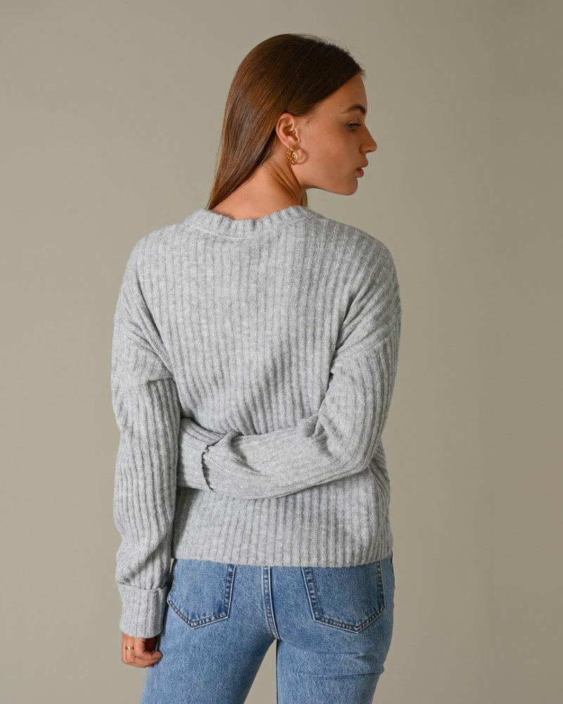 Star Knit Light Grey Melange