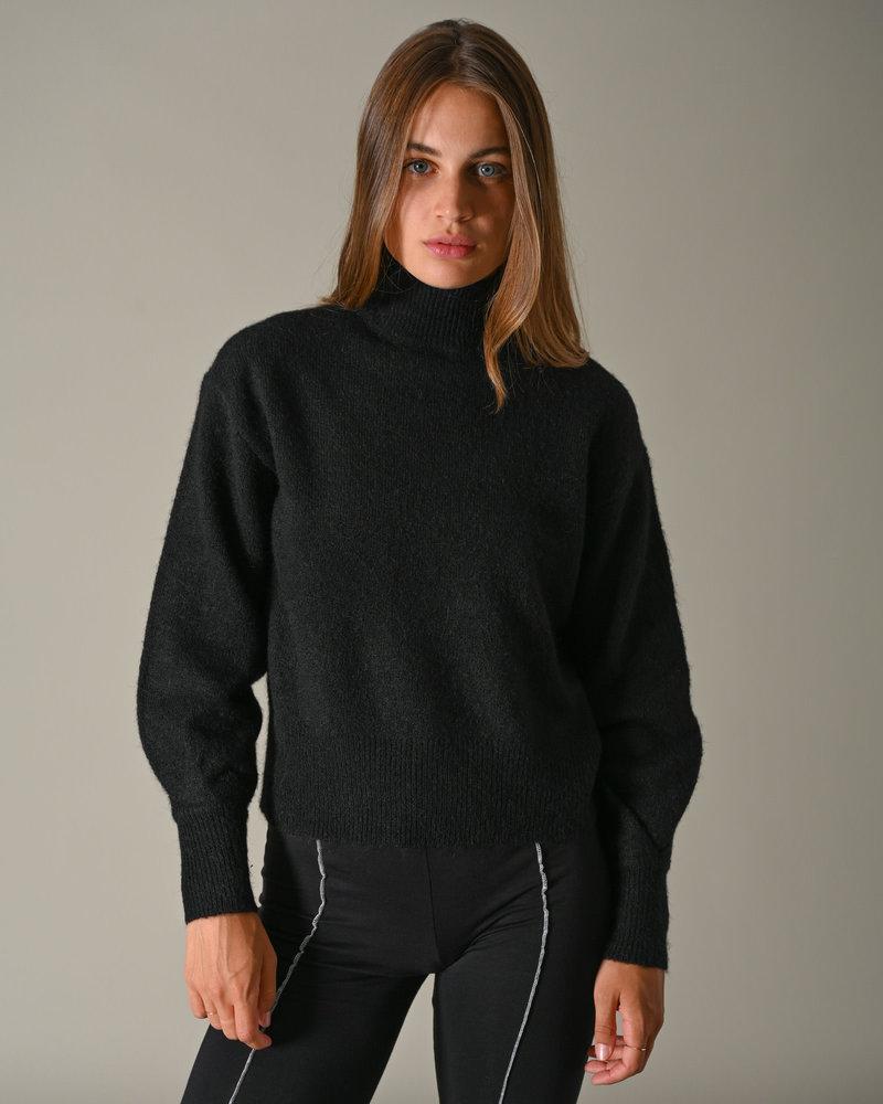 Agate Knit Pullover Moonlight Black