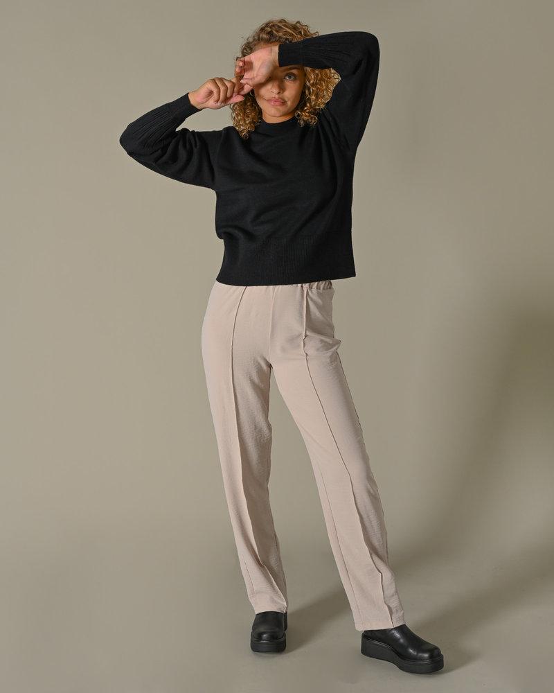 Timmi Knit Pullover Black