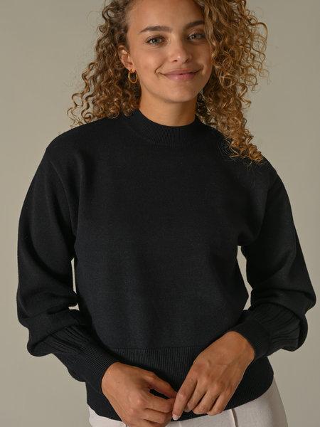 YAS Timmi Knit Pullover Black