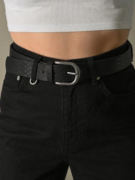Croco Black Belt