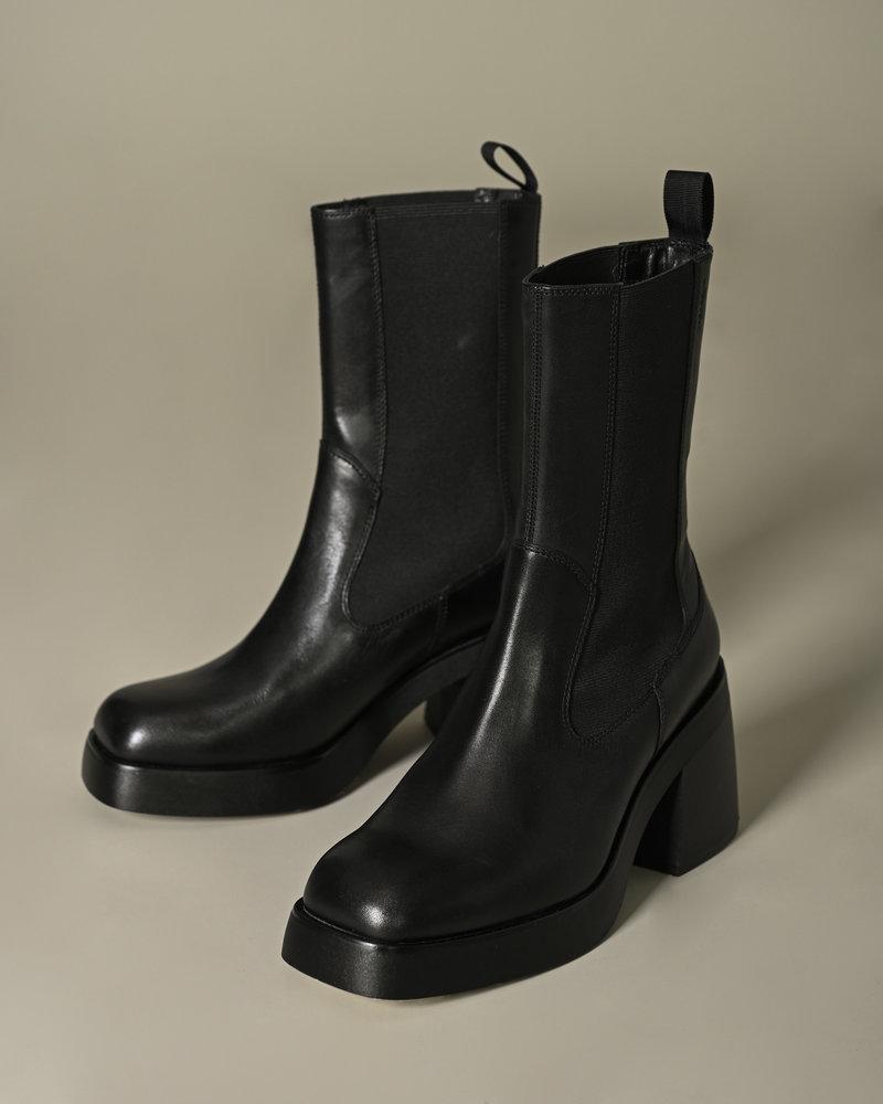 Brooke Elastic Boots Black