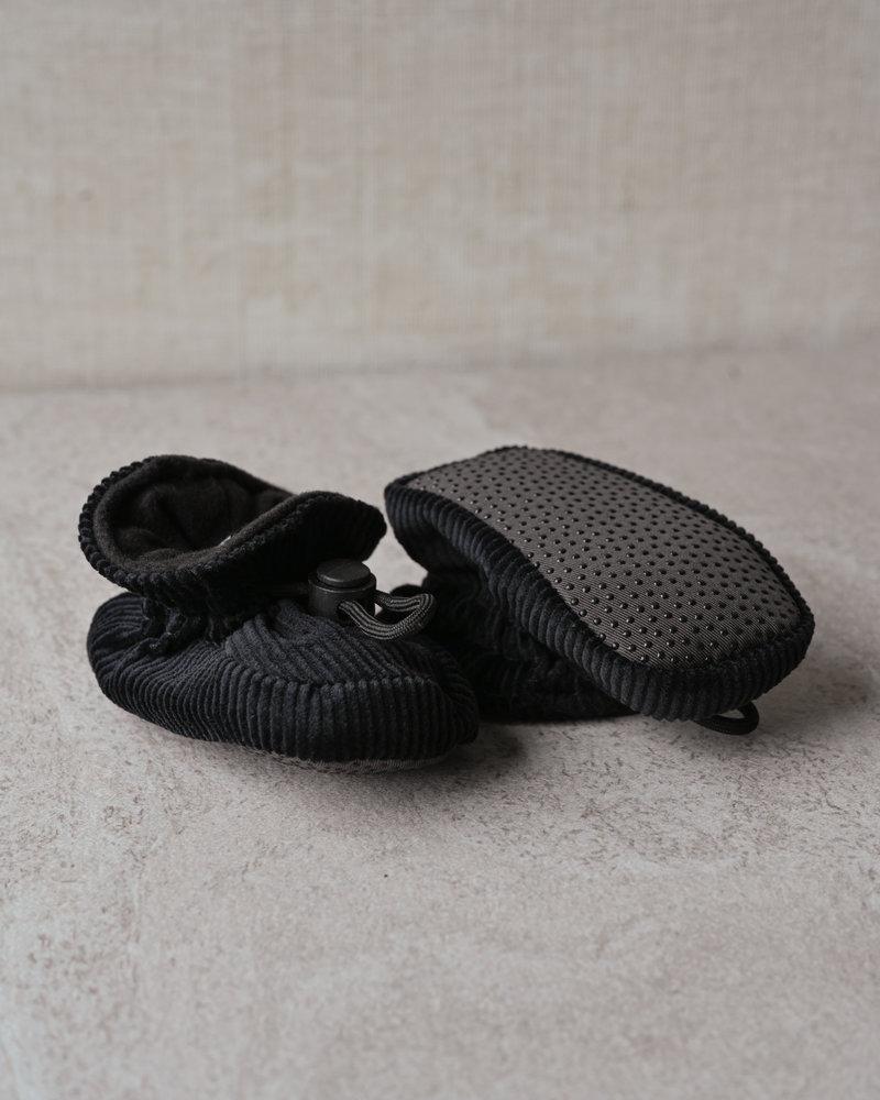 Baby Corduroy Booties Black