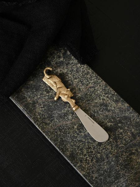 Doing Goods Leopard Butter Knife