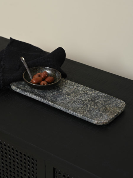HKliving Green Marble Tray