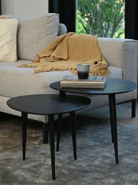 Chasey Table Black (SET OF 2)