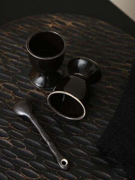 Broste Egg Cup Coal