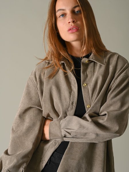 Things I Like Things I Love TILTIL Baby Corduroy Blouse Stone
