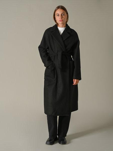 Lara Long Coat Black