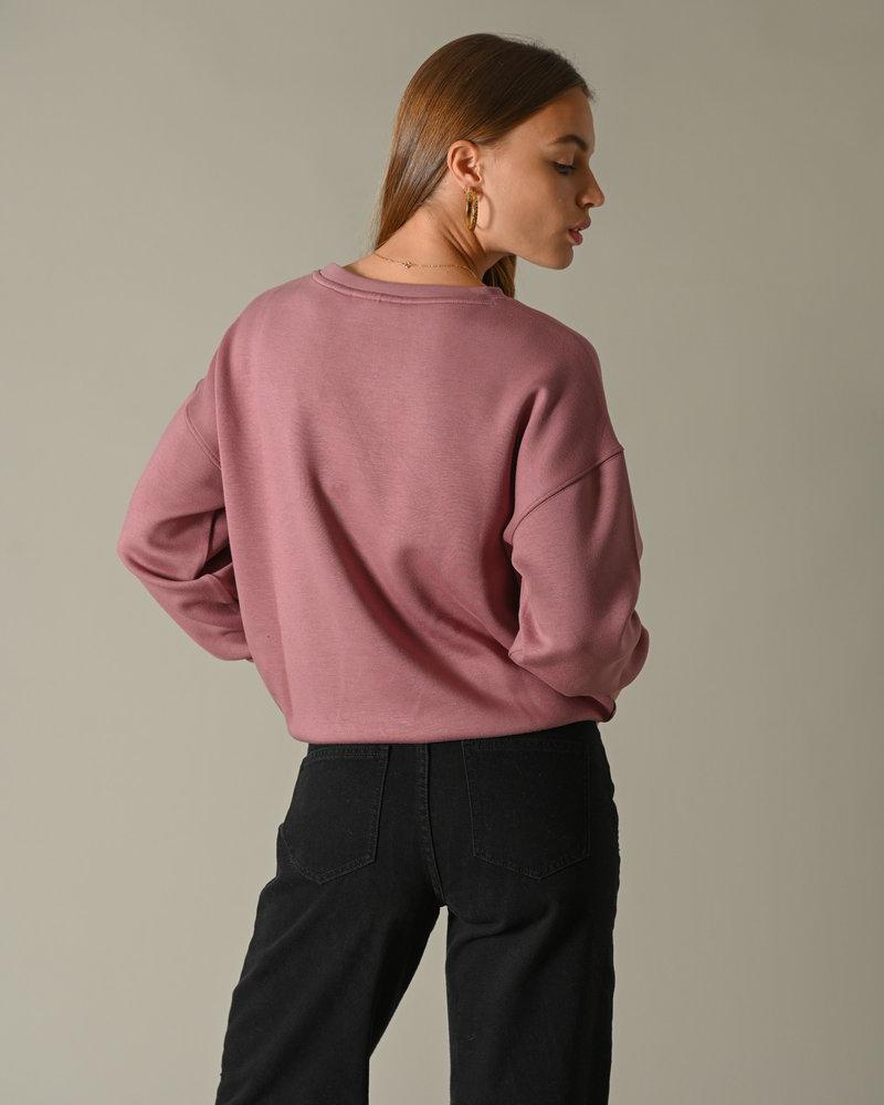 Ima DS Sweatshirt Rose Taupe
