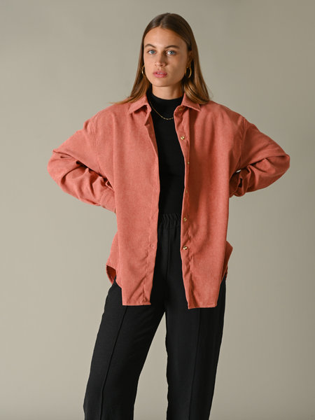 Things I Like Things I Love TILTIL Baby Corduroy Blouse Coral