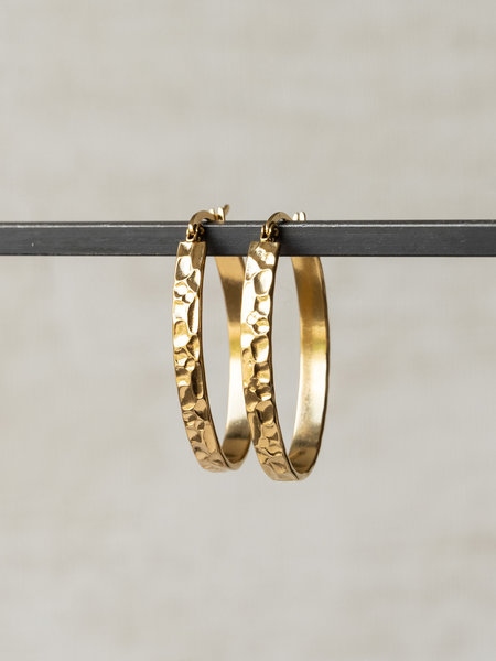 Lizz Hoop Gold