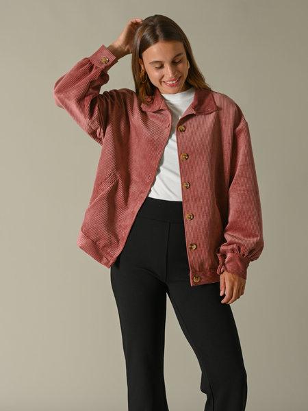 Things I Like Things I Love TILTIL Bobby Corduroy Jacket Dusty Pink