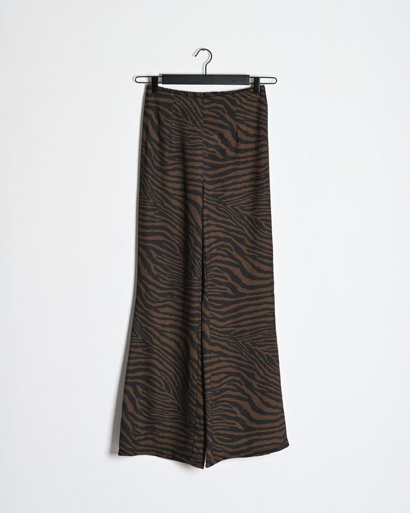 TILTIL Lima Pants Brown Print