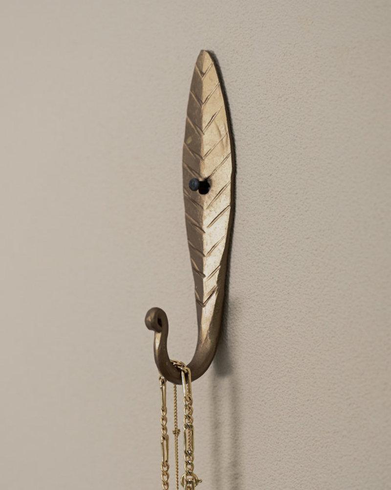 Brass Hook Leaf