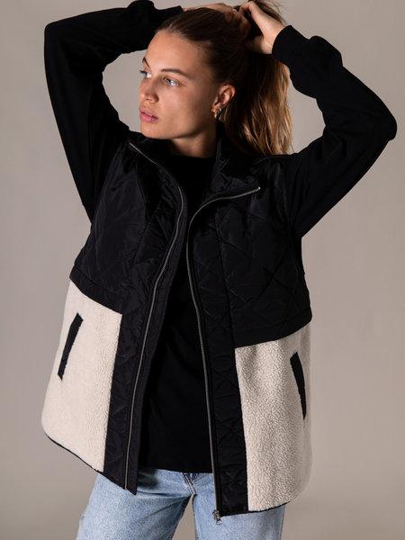 MSCH Adina Kiara Waistcoat Black/Silver