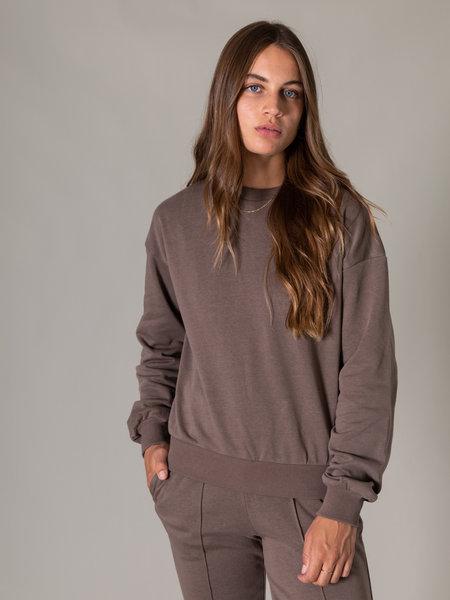 Rut & Circle Alexa Sweater Mushroom