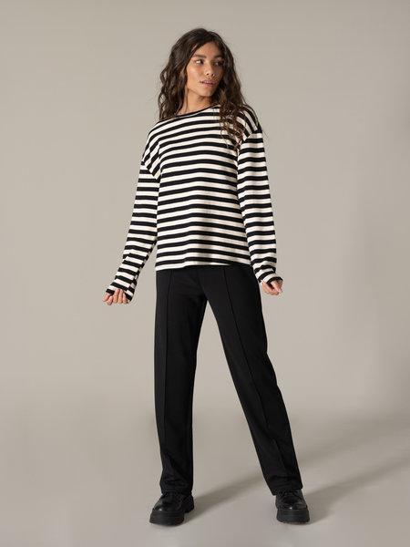 Capta Stripe Shirt Black