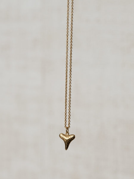 All The Luck In The World Necklace Gold - Souvenir Tooth