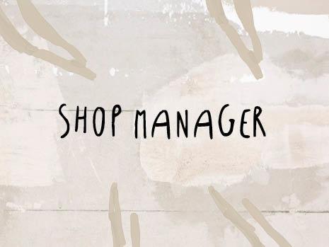 Shop Manager Utrecht