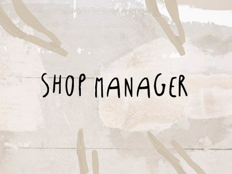 Shop Manager Amsterdam