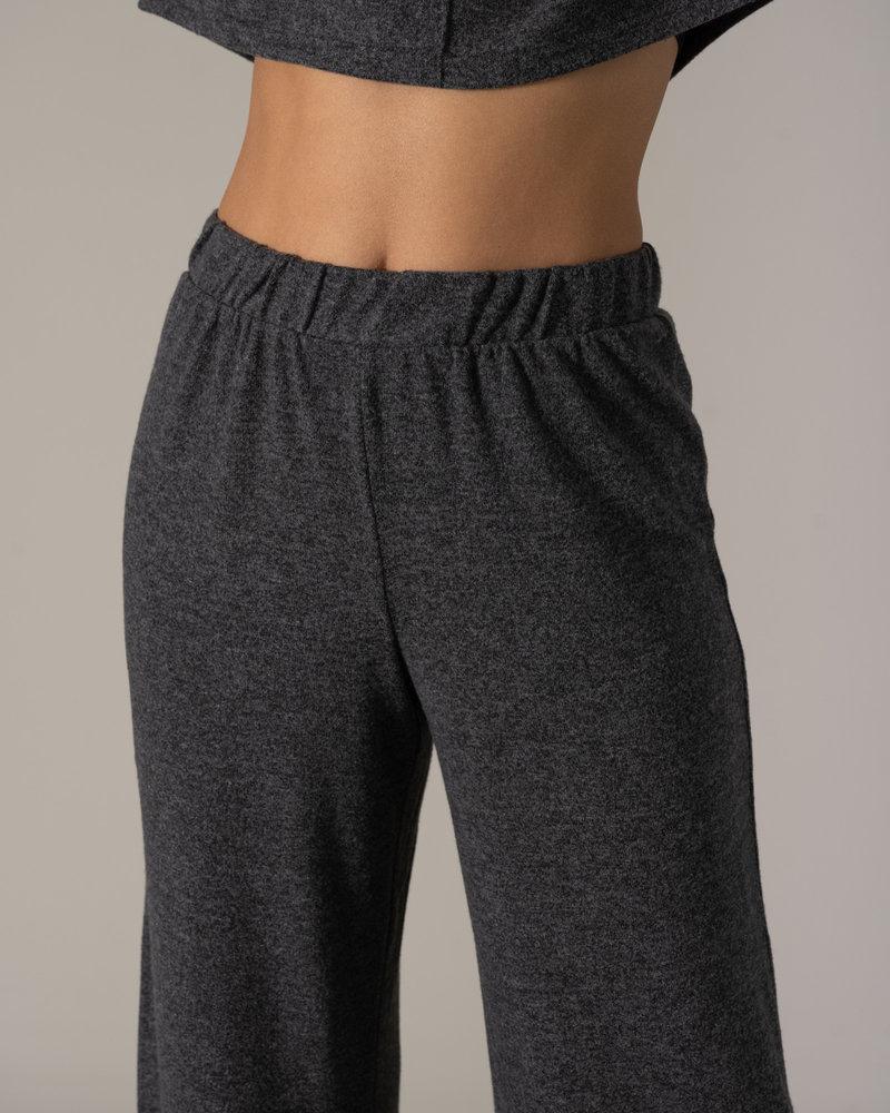 State Wide Pants Dark Grey Melange