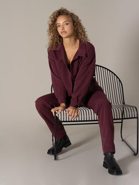 Things I Like Things I Love TILTIL Josha Trousers Aubergine