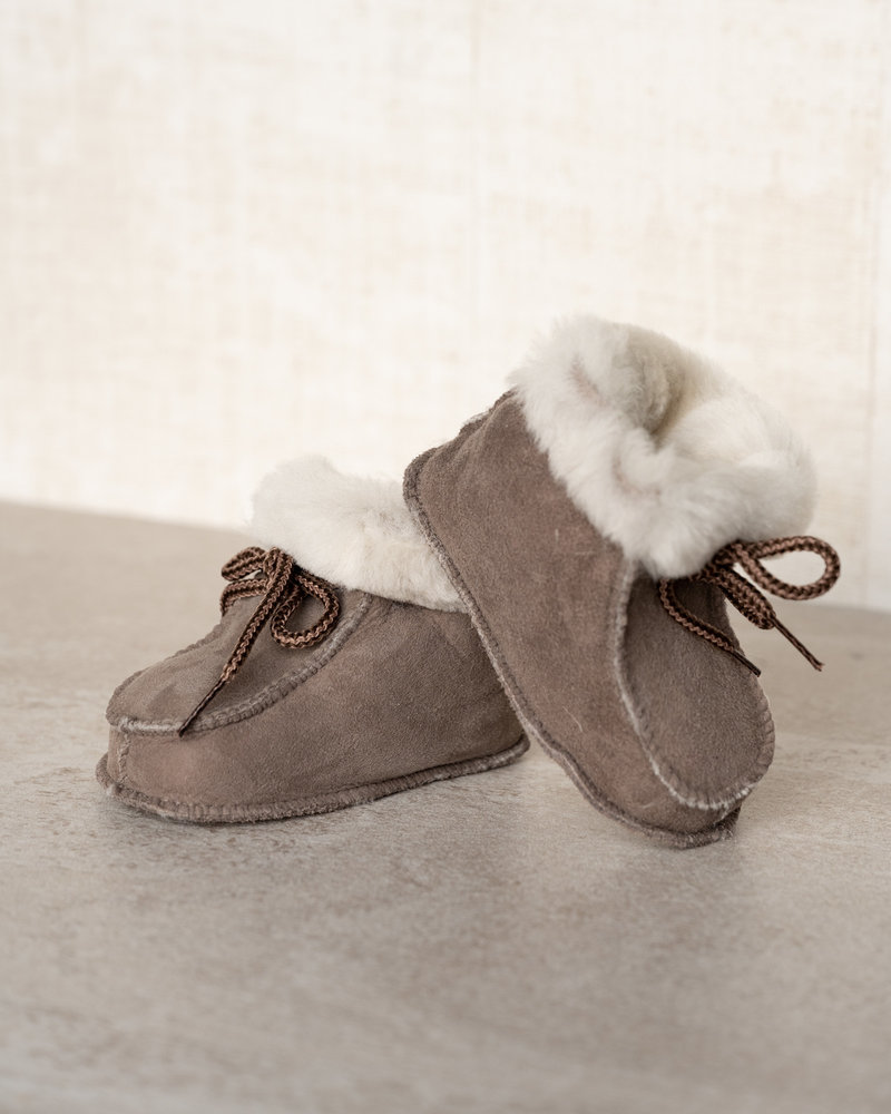 Baby Lammy Boots Taupe