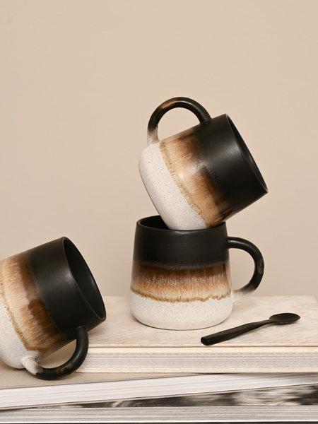 Sass & Belle Mojave Mug Black Brown