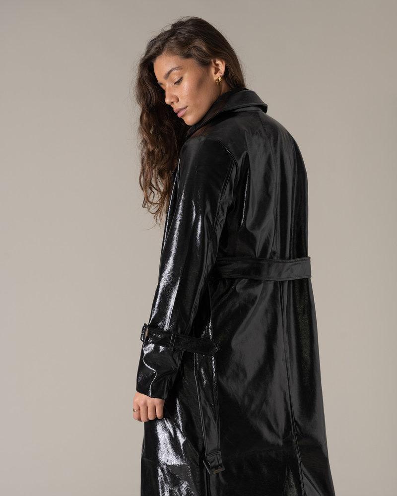 Belted Trenchcoat Black