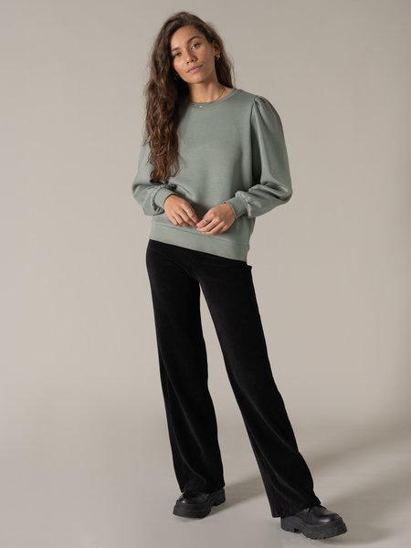 MSCH Ima Puff Sweatshirt Agave green