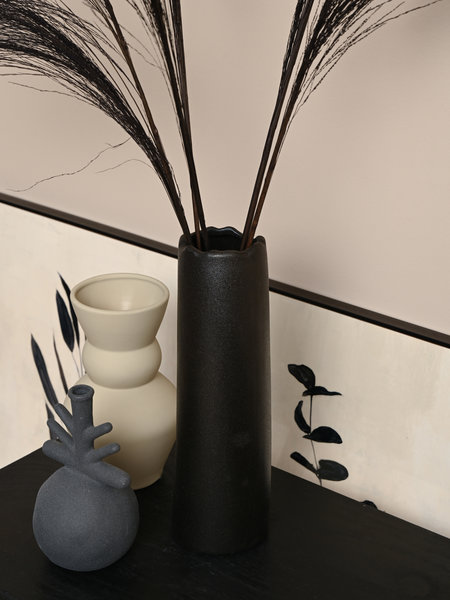 Vase Matte Black