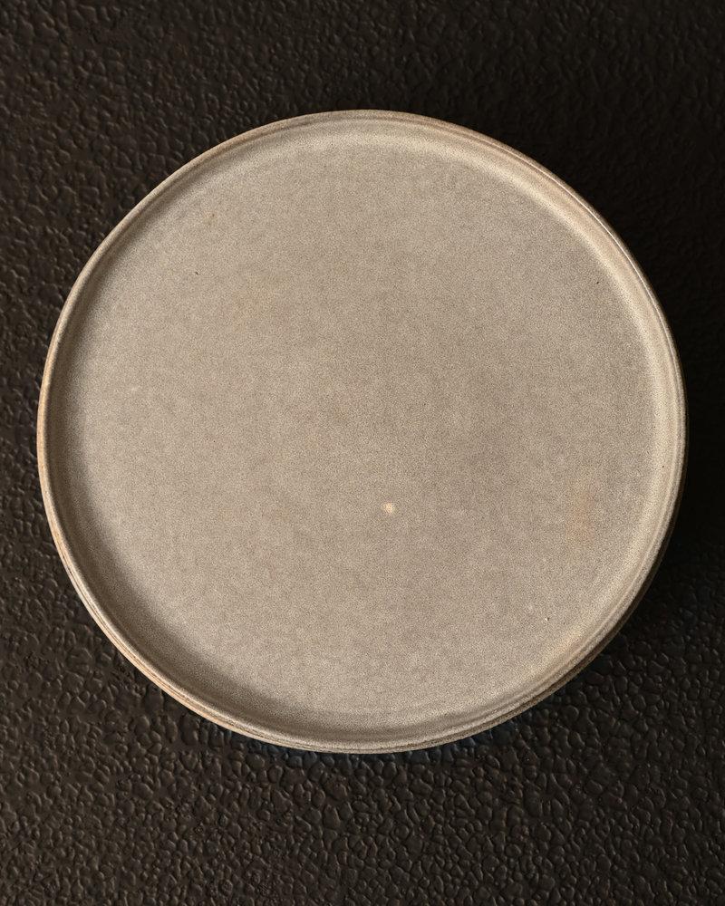 Dinner Plate Matte Grey