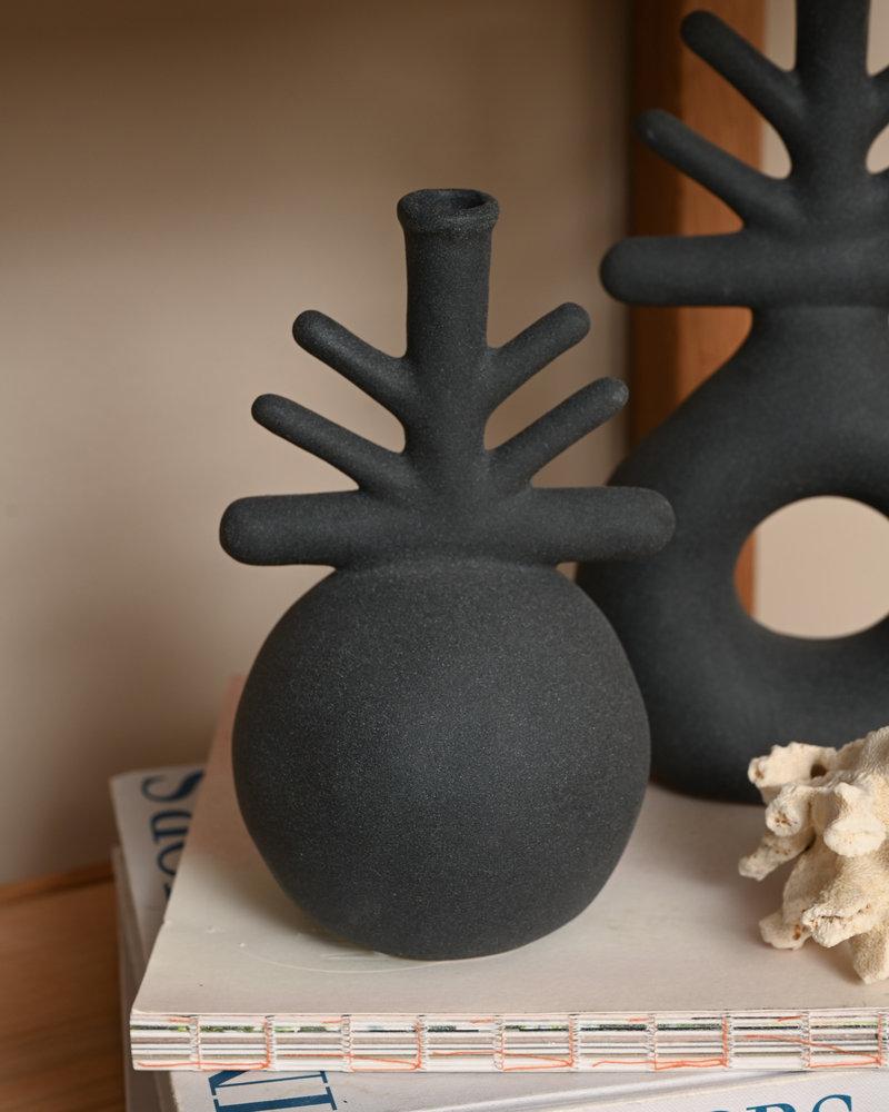 Vase Corry Matte Black