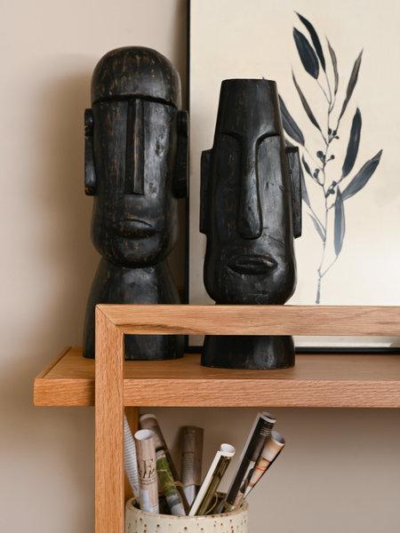 Deco Head Idol Wood Black