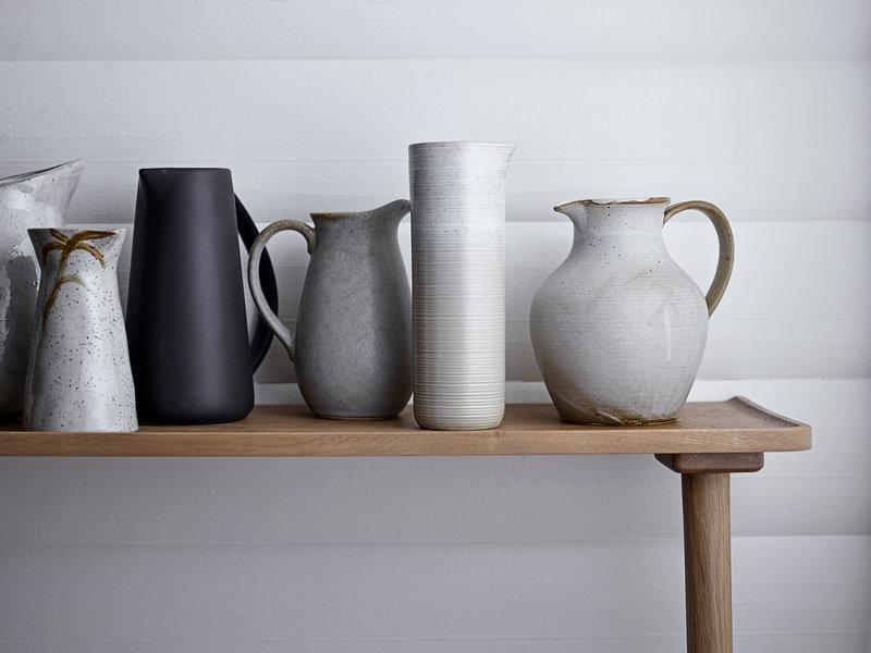 Jug Taupe Stoneware