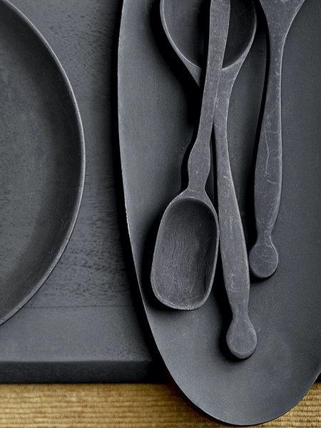 Efi Salad Servers Black Acacia (SET OF 2)