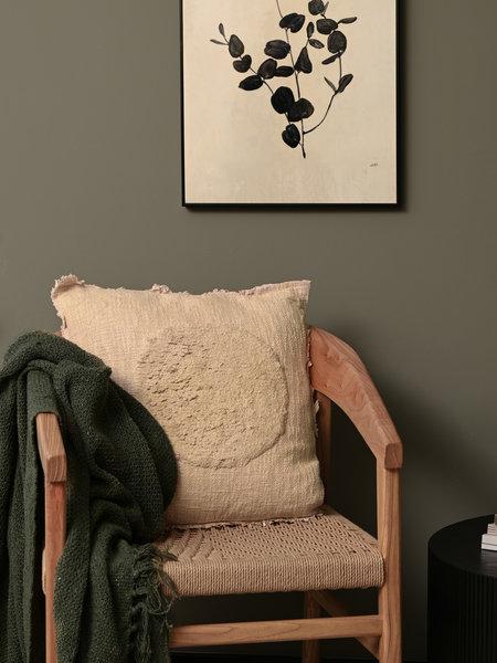 Cushion Circle Beige