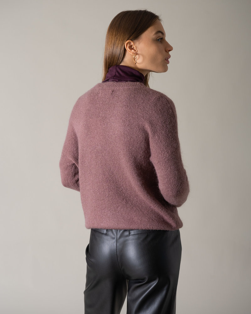 Femme Mohair Pullover Rose Taupe