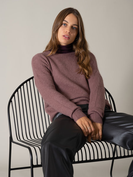 MSCH Femme Mohair Pullover Rose Taupe