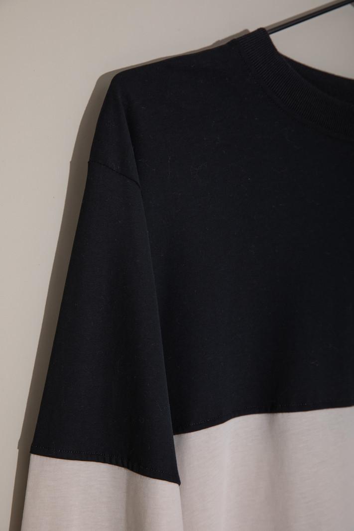 TILTIL Black & Beige Longsleeve